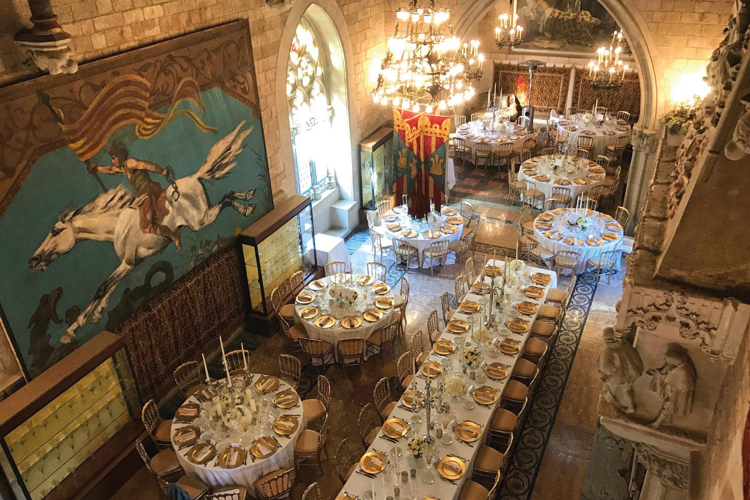 Ambiente en boda en Barcelona