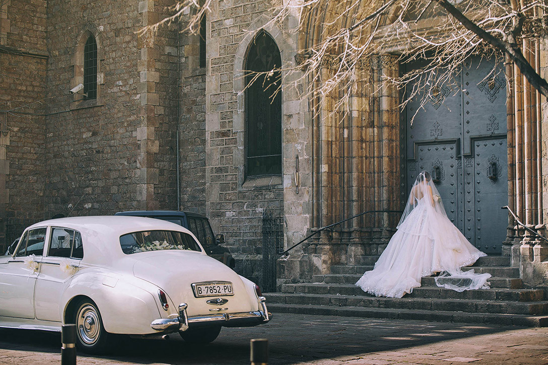Celebración de una boda en Barcelona