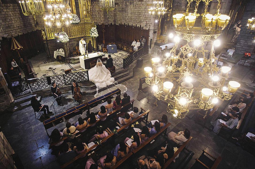 Ceremonia para una boda en Barcelona