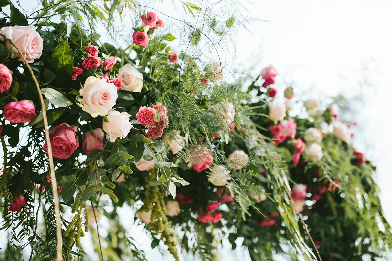 Rosas para boda en Barcelona