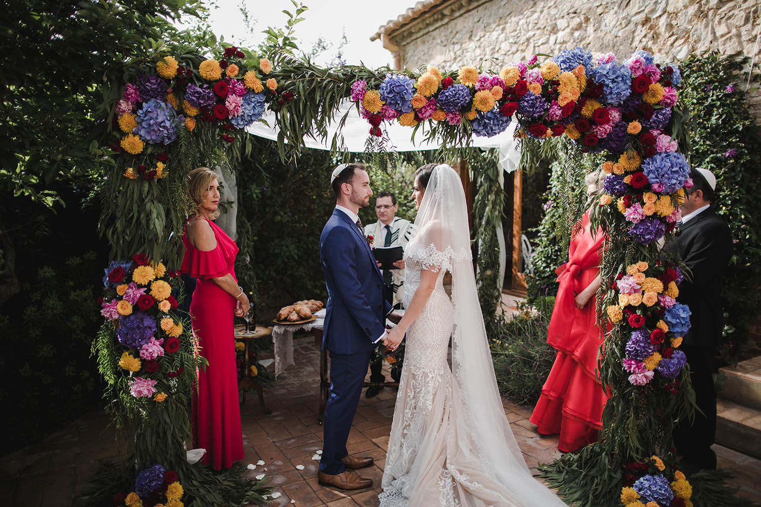 flower-arch-jewish-wedding